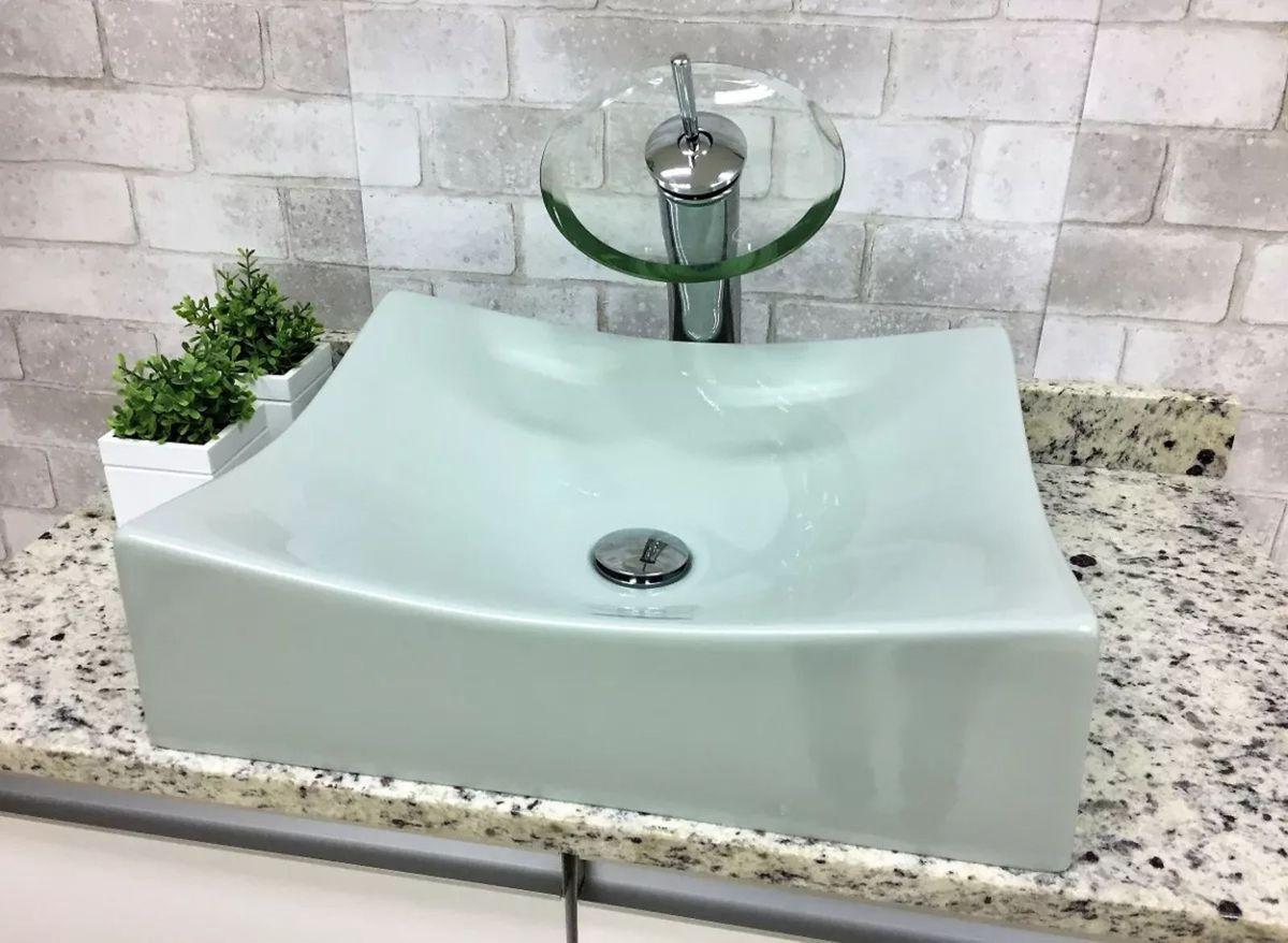 Cuba Pia Banheiro Bancada Apoio Verde Acqua Item De Decoracao Toleato Nunca Usado 30378218 Enjoei