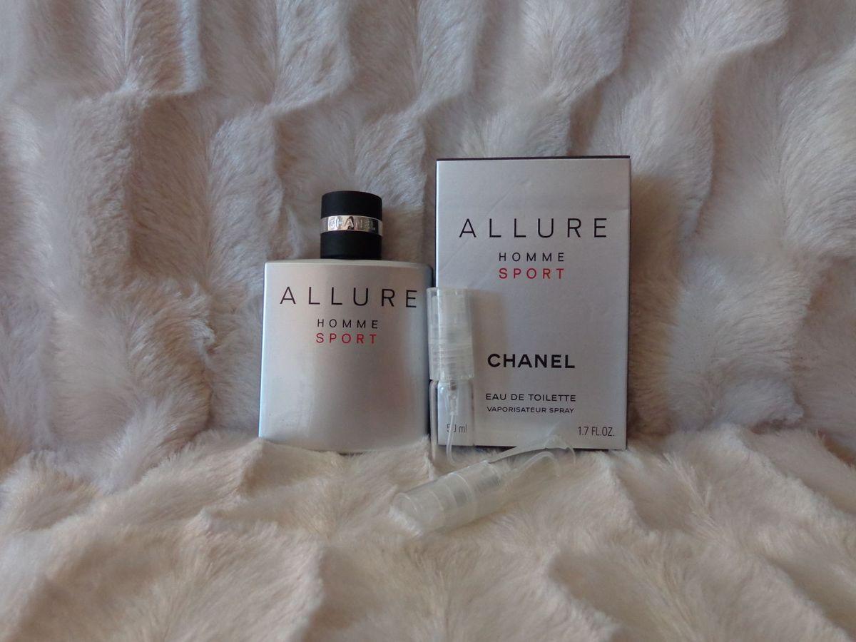 875c9f269 decant do eau de toilette allure homme sport - chanel - 5ml - perfumes  chanel