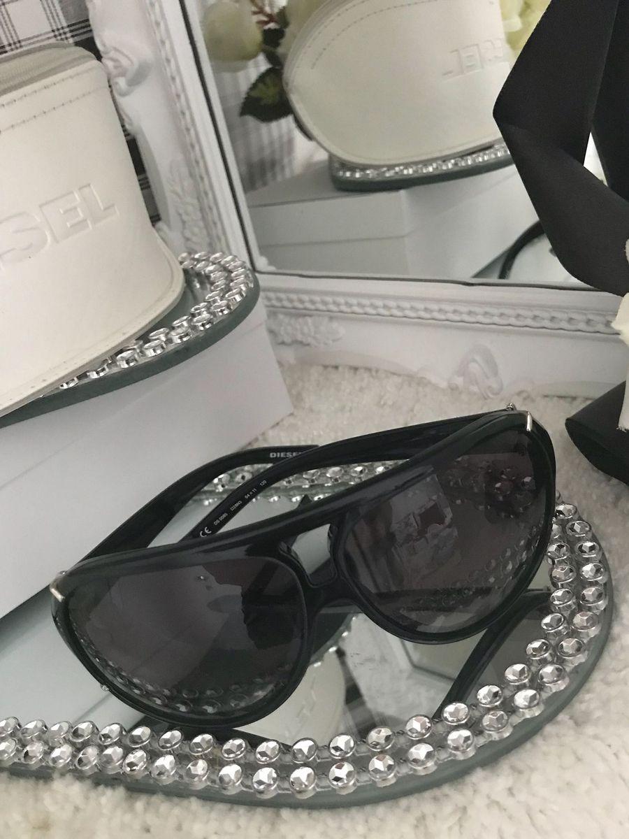 1b85ab69b Diesel Óculos de Sol Modelo Mascara | Óculos Feminino Diesel Made In ...