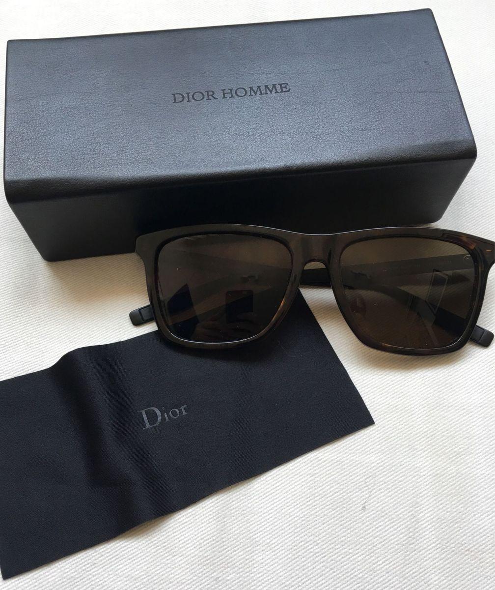 Dior Homme   Óculos Masculino Dior Dior Homme Nunca Usado 18343715 ... 86647d4097