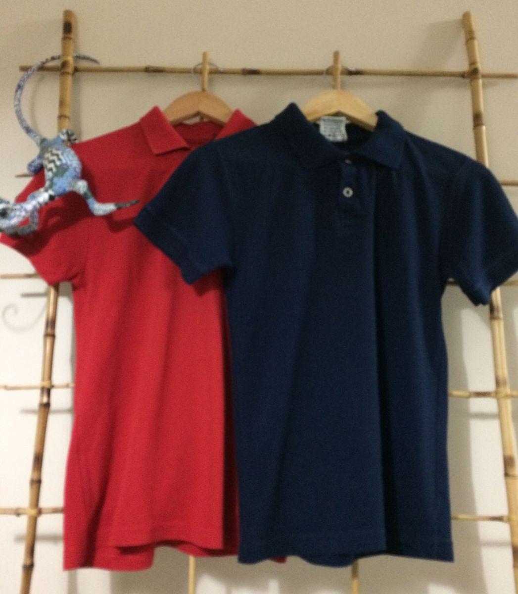 f5ca9f18e5 Duas por Um Camisa Pólo