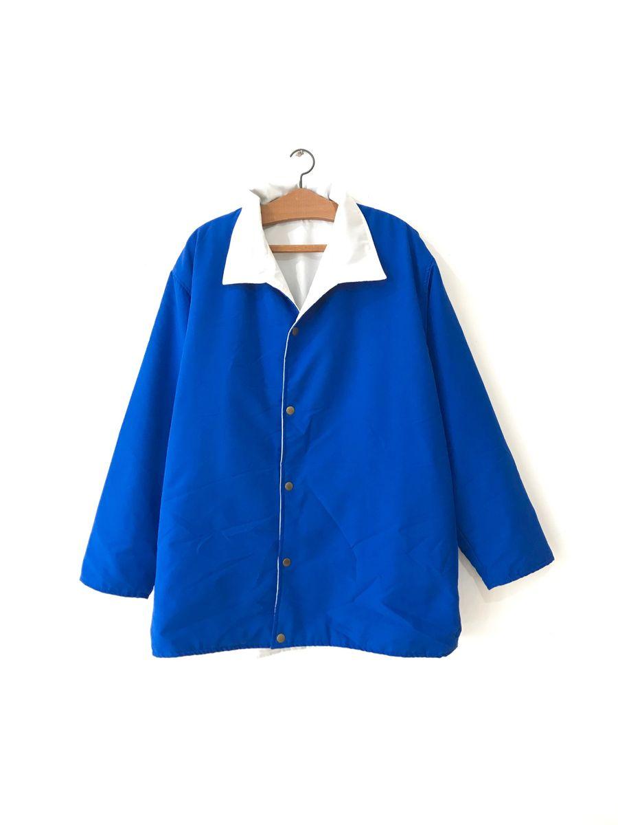 dupla face azul - casacos sem marca