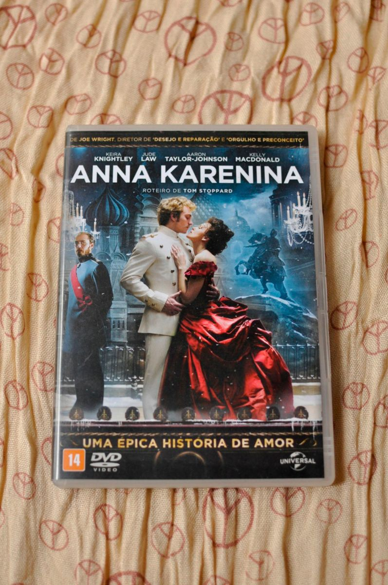 dvd anna karenina - filmes e séries dvd