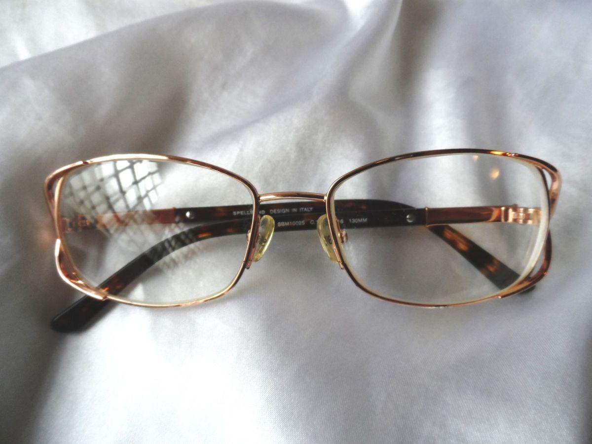 elegante óculos grau feminino spellbound,itália,anos 2000 - óculos  spellbound d4414f1dbc