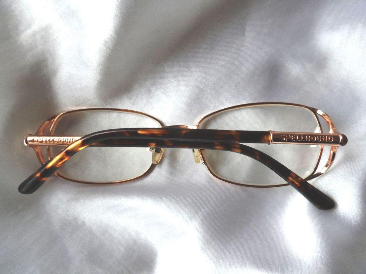 Elegante Óculos Grau Feminino Spellbound,itália,anos 2000   Óculos Feminino  Spellbound Usado 30301341   enjoei 06e16320ca