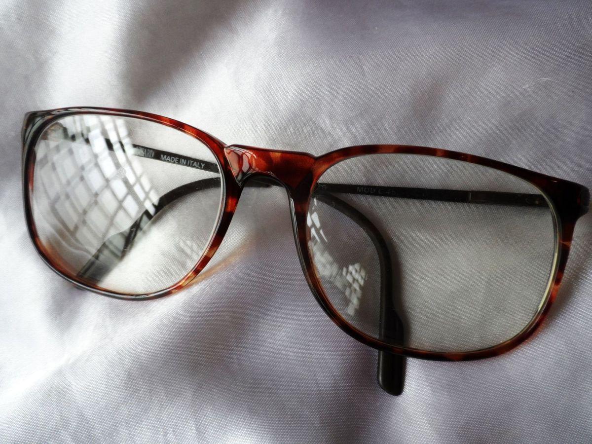 55be0749f elegante óculos vintage masculino italiano de grau visard,anos 90. - óculos  visard