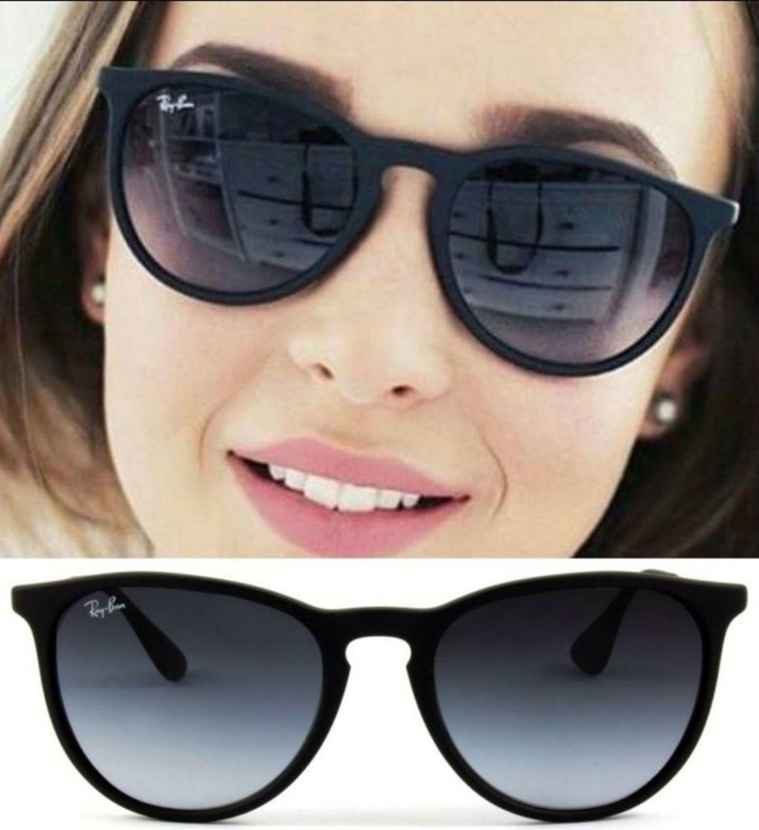 7a4bc5e7154b9 erika preto da ray ban lente polarizada - óculos ray-ban