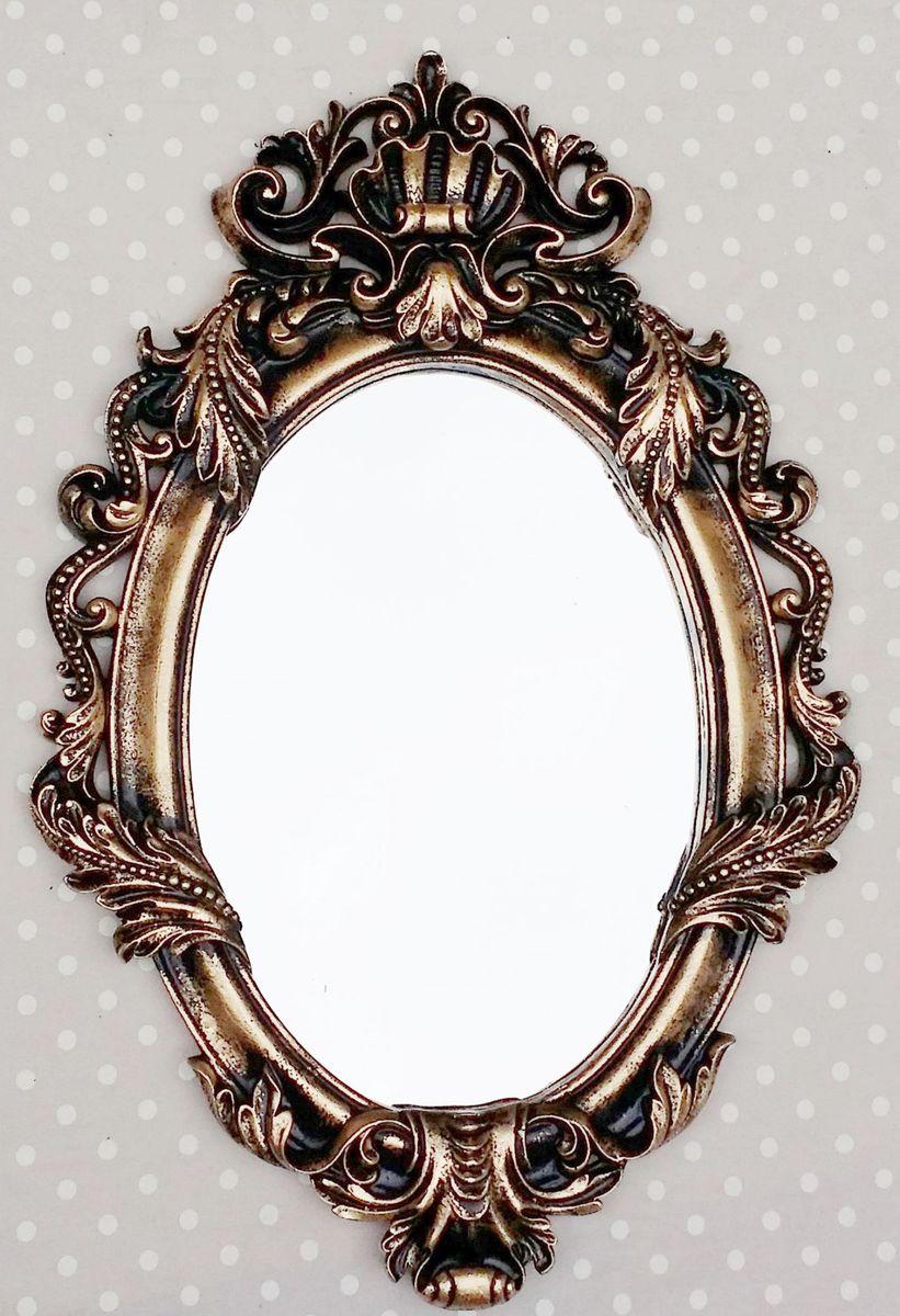 espelho veneziano ouro velho pronta entrega - decoração megaresinas
