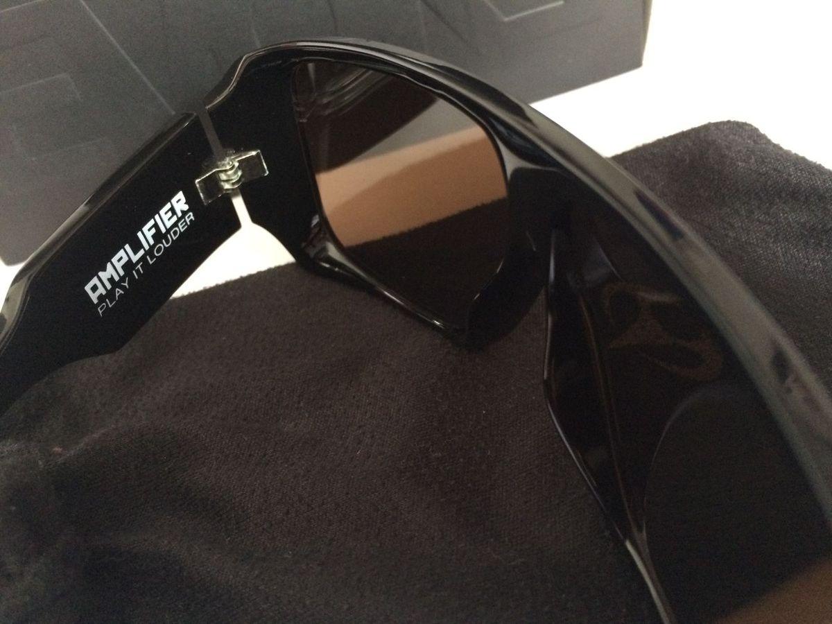 Evoke Amplifier Aviator Black Shine   Óculos Masculino Evoke Usado 13315456    enjoei 86ae017932