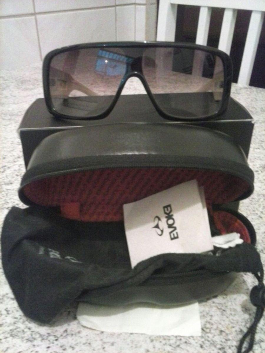 f9429a6a87a36 evoke amplifier black nude (oculos original) raridade!! - óculos evoke  amplifier