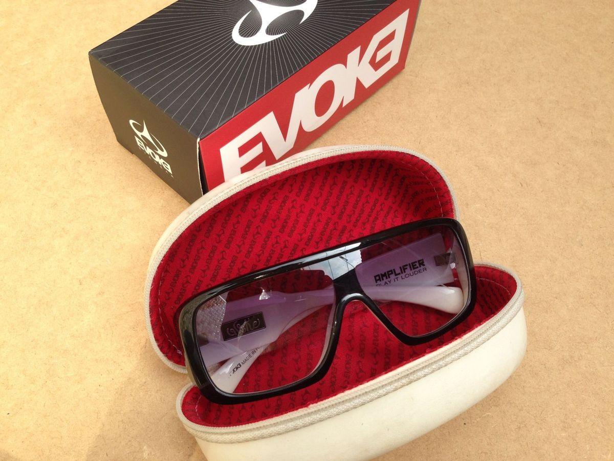 Evoke - Amplifier Black White Gradient   Óculos Masculino Evoke ... 9404a300d4
