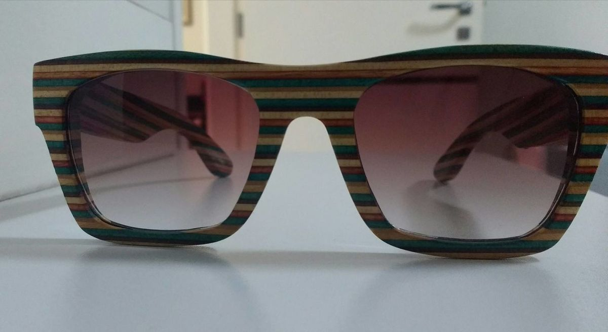 26db28dca Evoke - Wood Serie 02 Maple Colors | Óculos Masculino Evoke Usado ...