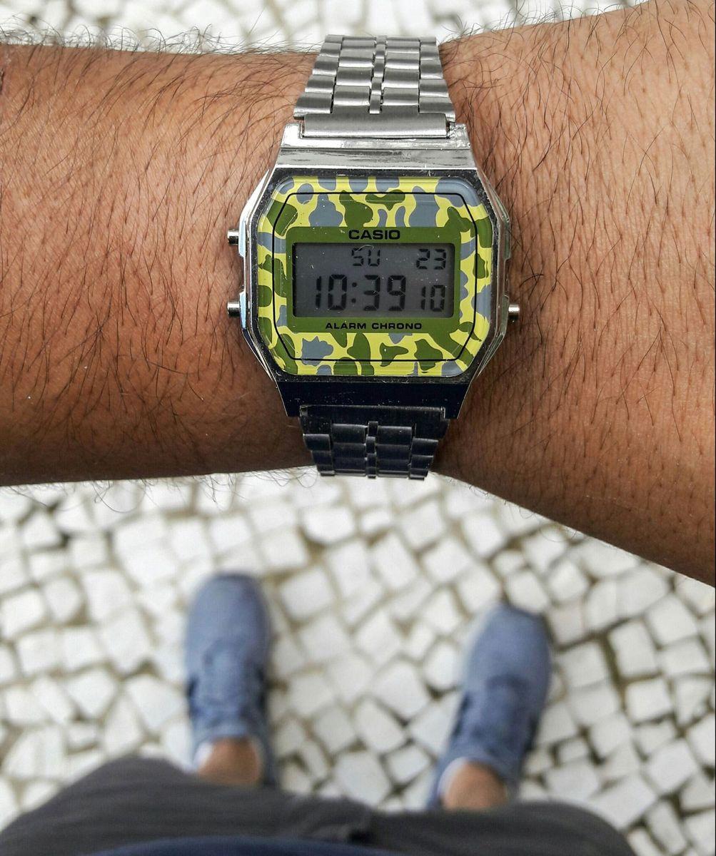 41c376b05c0 famosinho prata camuflado - relógios casio.  Czm6ly9wag90b3muzw5qb2vplmnvbs5ici9wcm9kdwn0cy84nzyxnjavnde3ndnhnme2mdq2mzezmzzjmjbmzmzhyjjmzwy3yteuanbn  ...