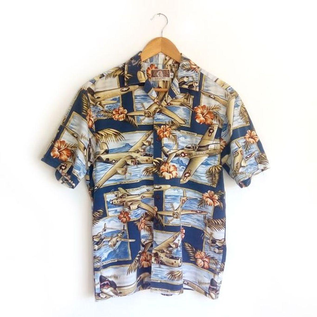 feita no havai - camisas kalaheo