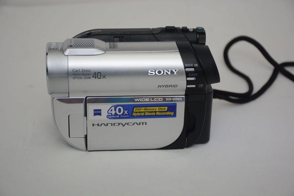sony handycam 40x zoom