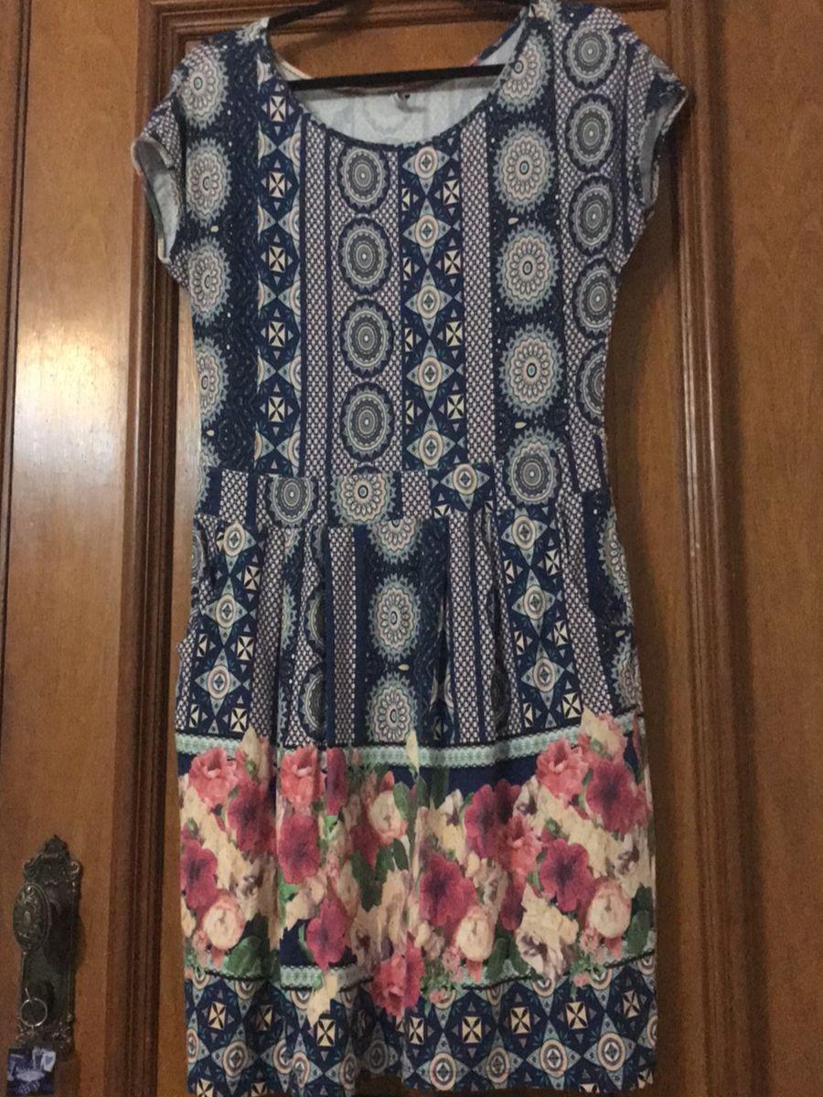 floral vestido boho - vestidos del anno