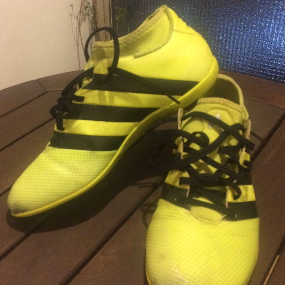 5c688310da Futsal Adidas Ace 16.3 Primemesh In Masculina - Verde Limão e Preto ...
