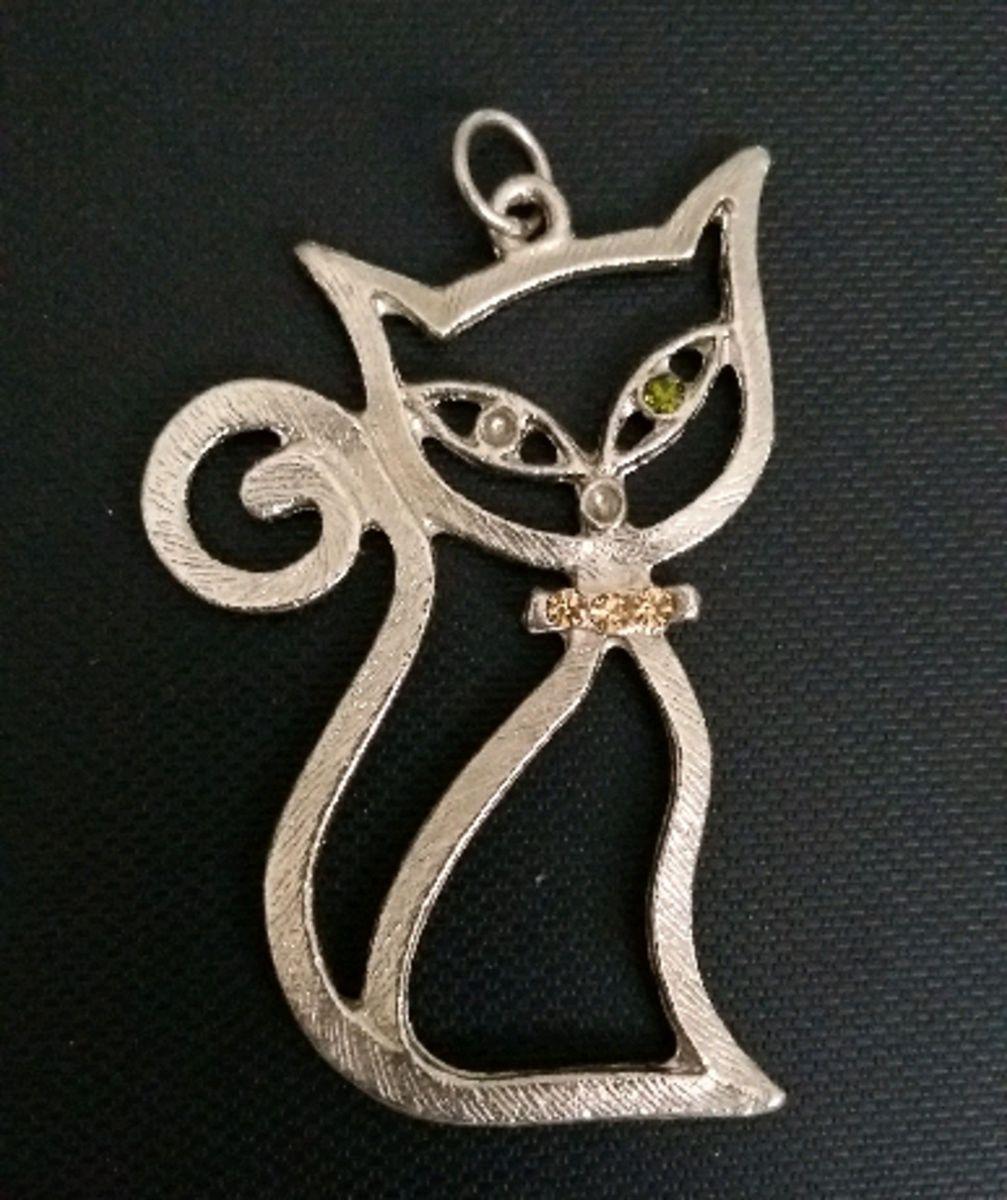 gatinho pingen - bijoux sem marca