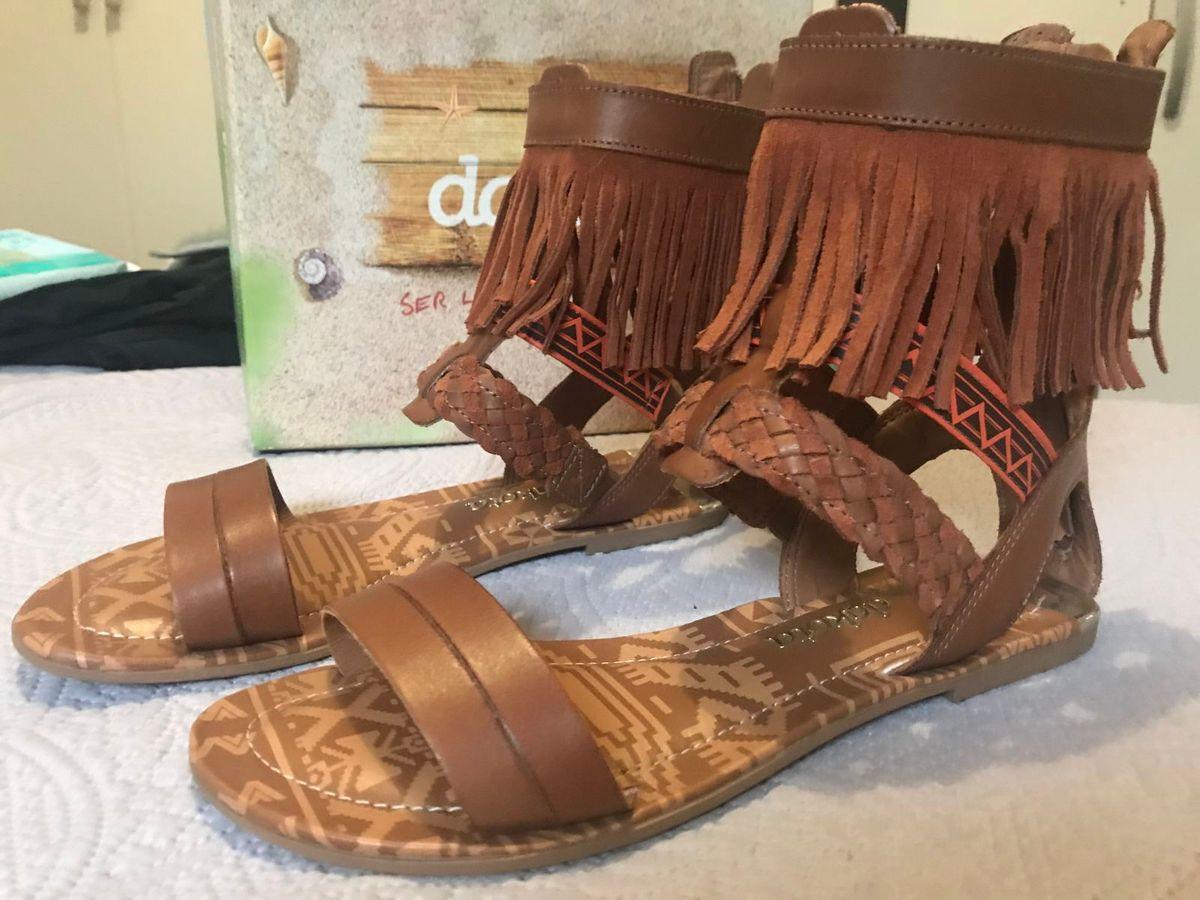 74aa5c18ed gladiadora dakota - rasteirinha dakota ...