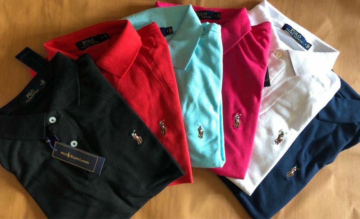 gola polo polo ralph lauren coleção clássica cores originais - camisas polo- ralph-lauren 5e803c33f3f