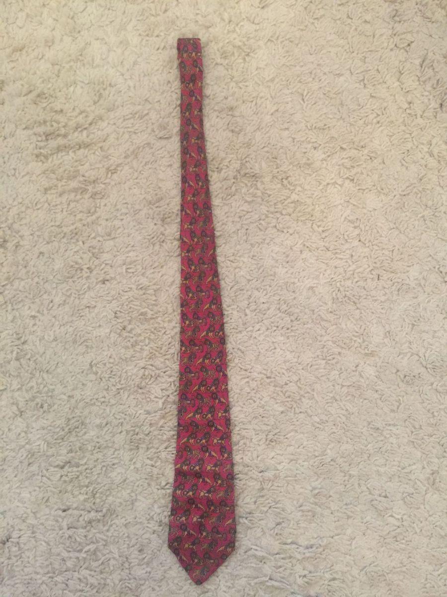 gravata salvatore ferragamo 100% seda original made in italy - lenços salvatore  ferragamo de161509e2