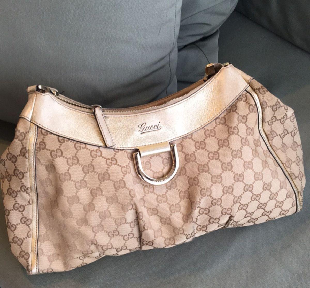 f87051e00 Gucci, Tecido e Couro, Original, Clássica | Bolsa de mão Feminina ...