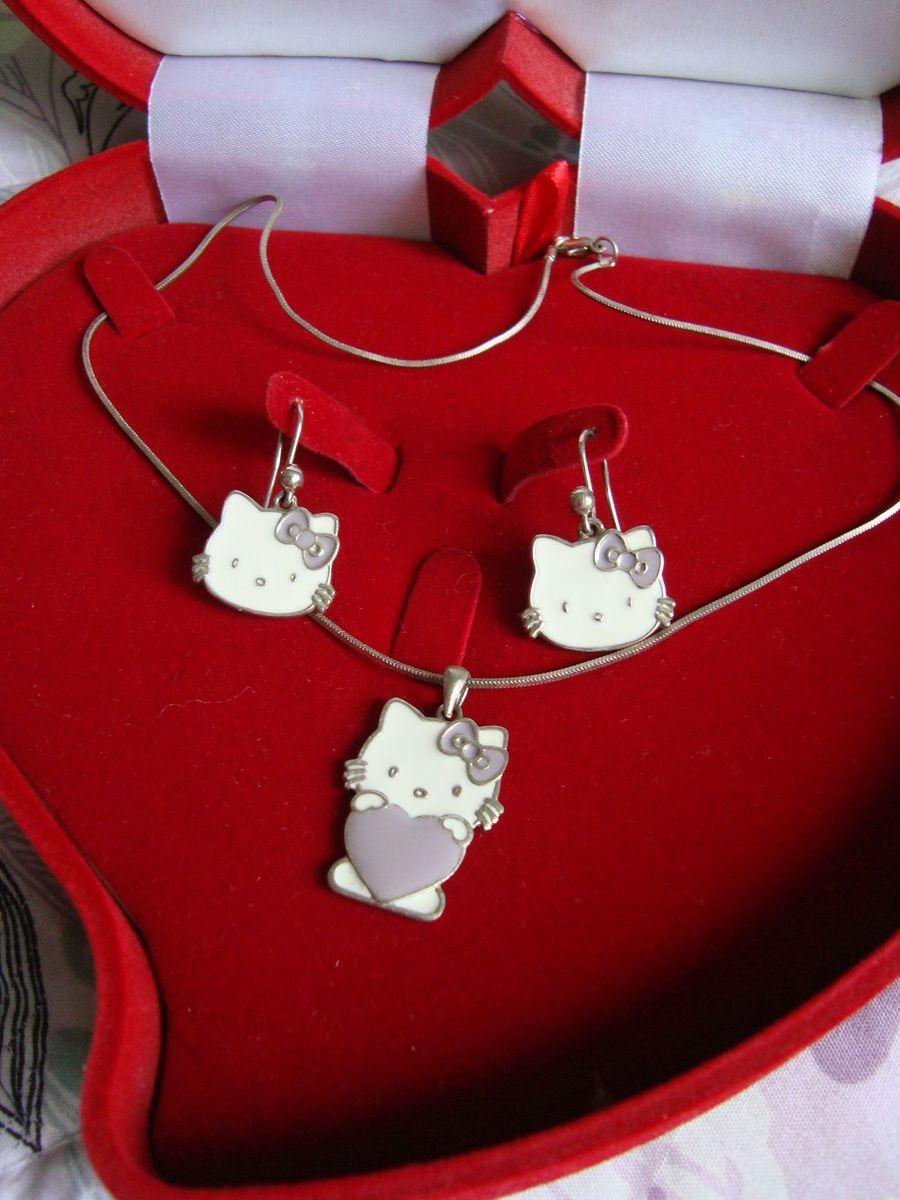 helloooow conjunto - bijoux sem marca