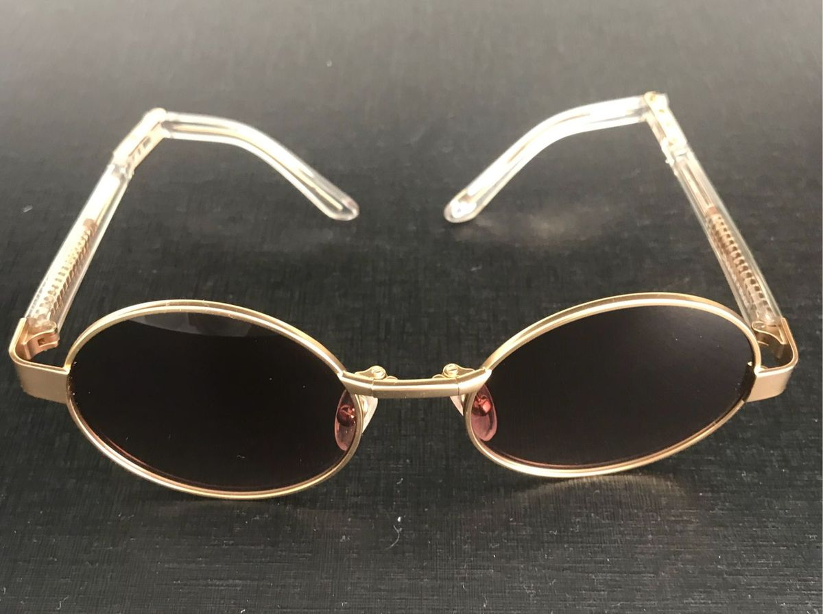 61b026b8df41b Herchcovitch Round   Óculos Feminino Alexandre Herchcovitch Nunca Usado  28271304   enjoei