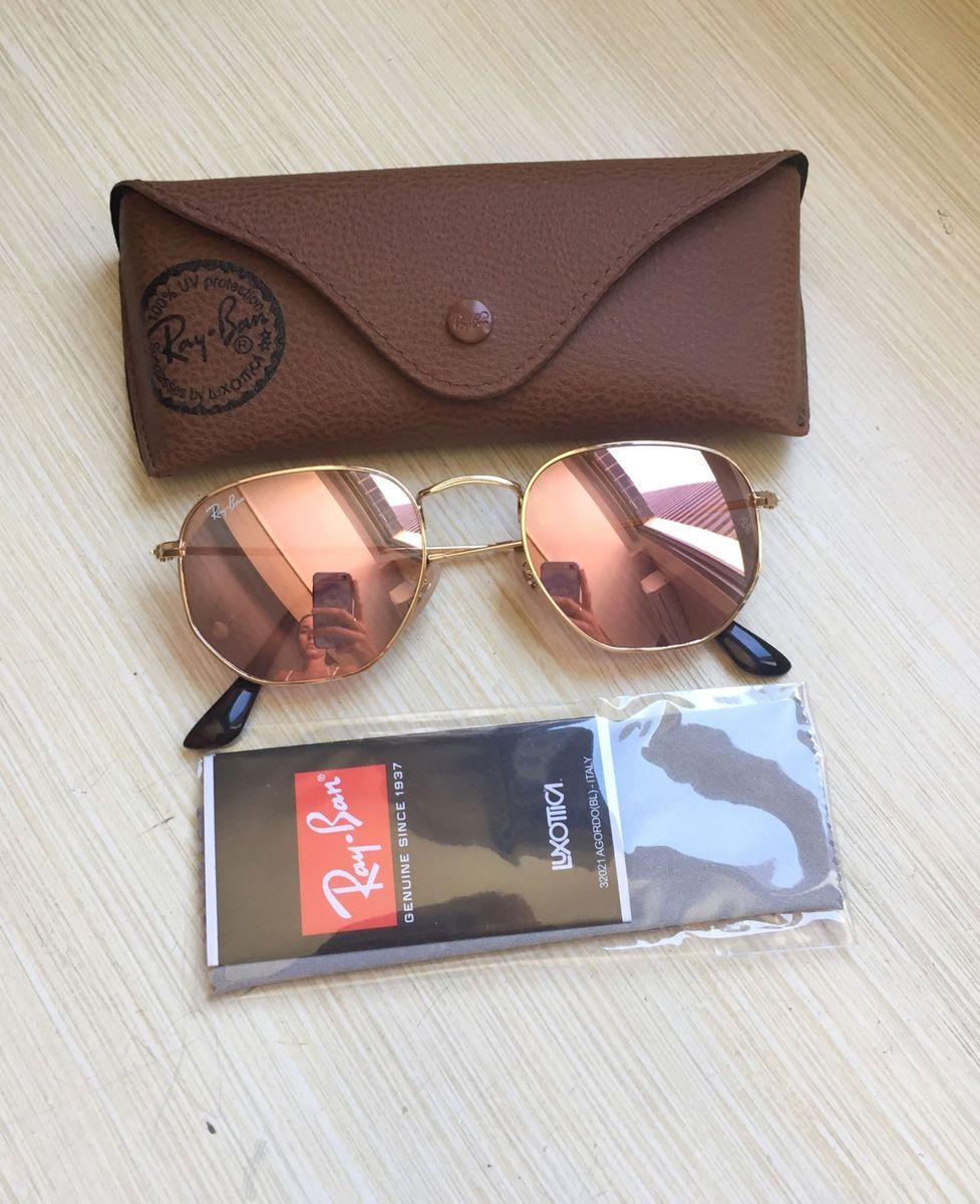 3746eed9da4d2 hexagonal rosa - óculos ray-ban.  Czm6ly9wag90b3muzw5qb2vplmnvbs5ici9wcm9kdwn0cy8zndi4otmvn2jmnwfkzdg2ngrmnteyndkznjezzguwzdm2yzayotyuanbn  ...