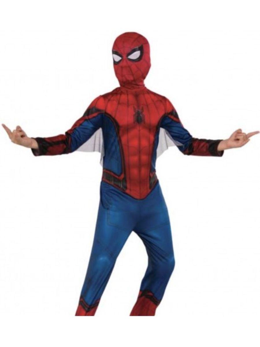 79e1045c12e7f homem aranha 4 - 6 anos fantasia infantil meninos volta ao lar - menino  rubies