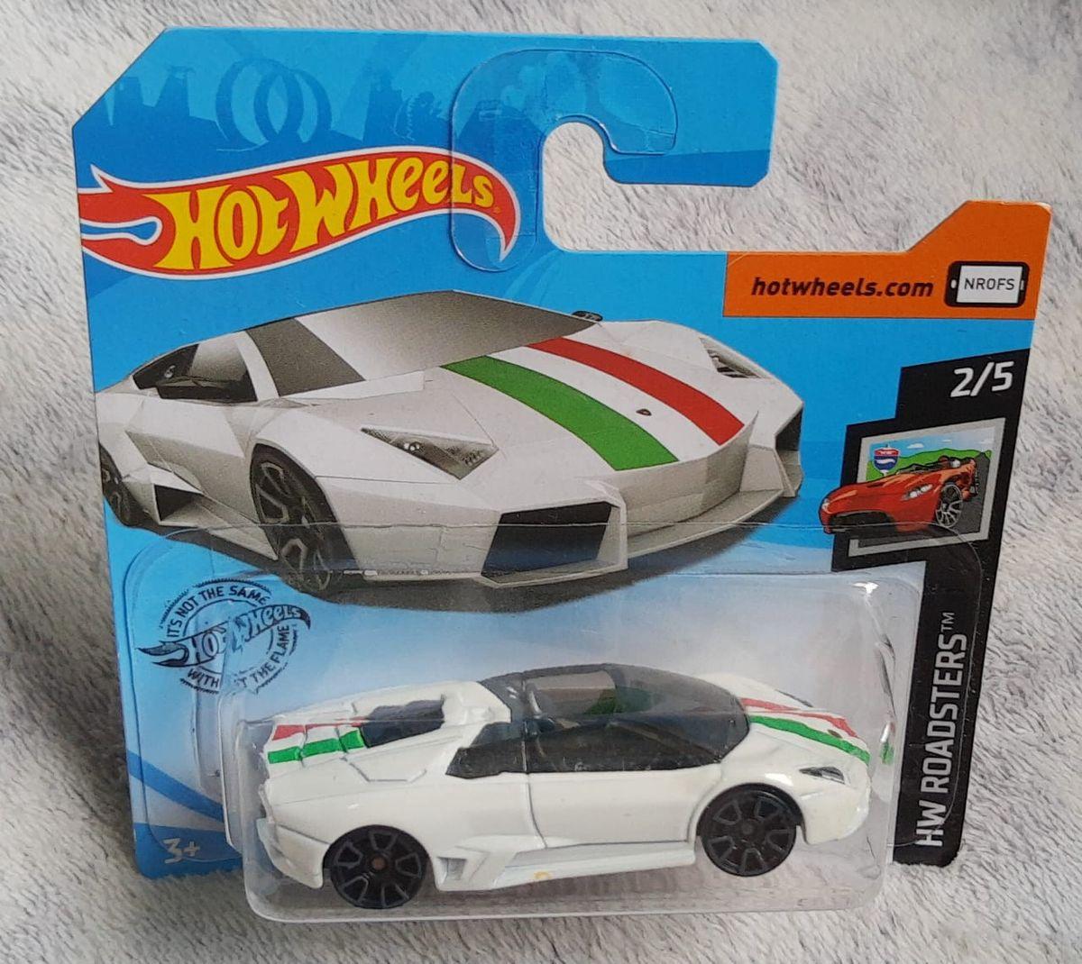 Hot Wheels Hw 2019 Lamborghini Reventon Roadster Carro Mattel Nunca Usado 43512745 Enjoei