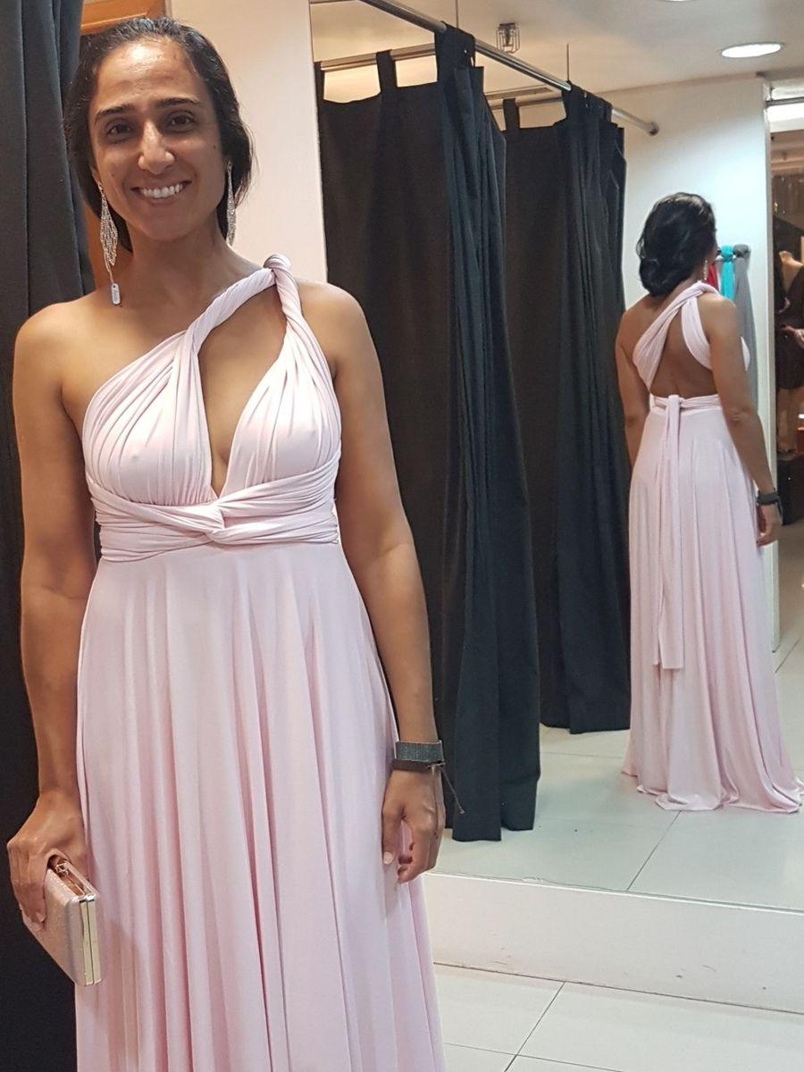 d9c6d5b0f8a2ff Infinity Dress Rosa Bebê | Vestido de Festa Feminino Nunca Usado ...