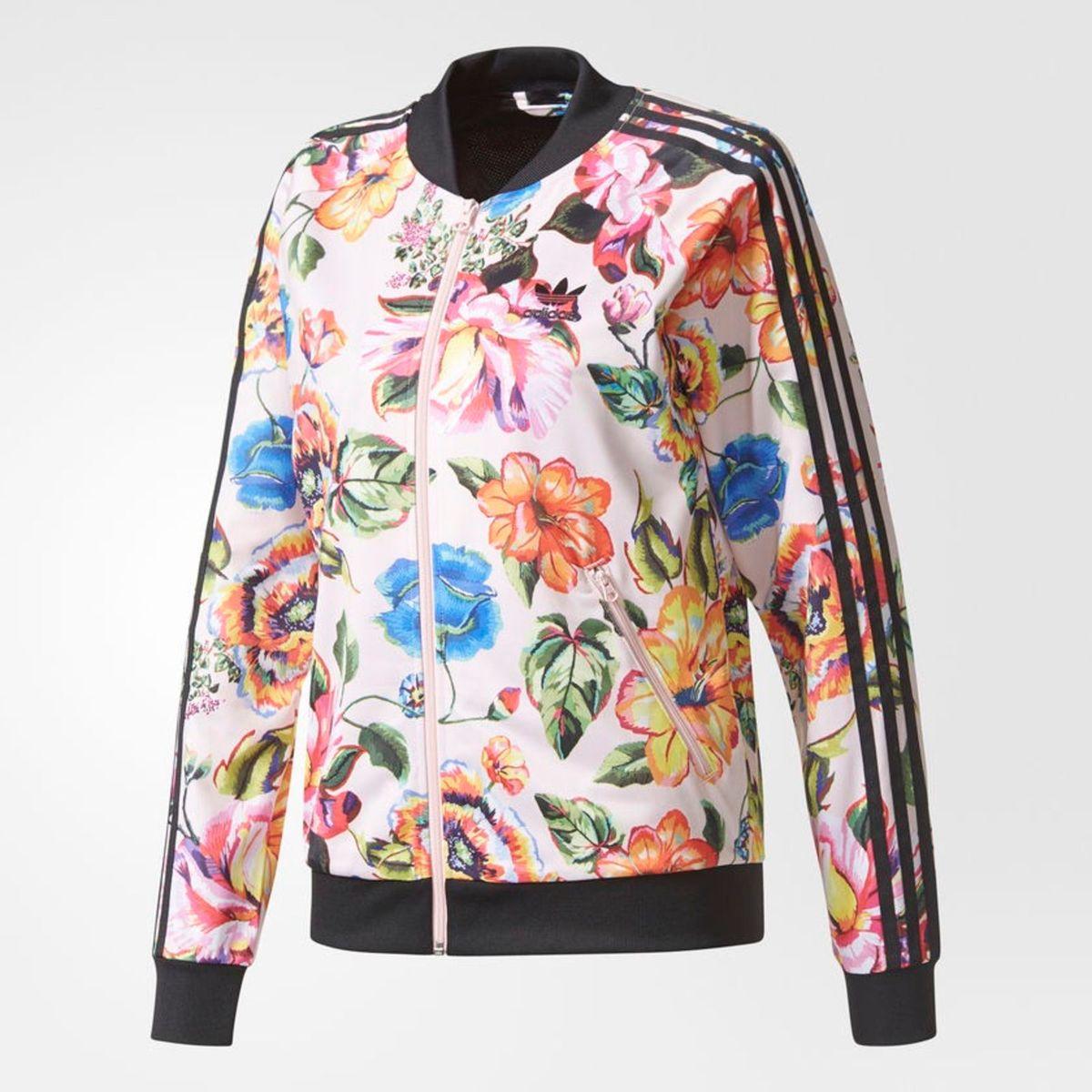 feff4dd0090 Jaqueta Adidas Floral