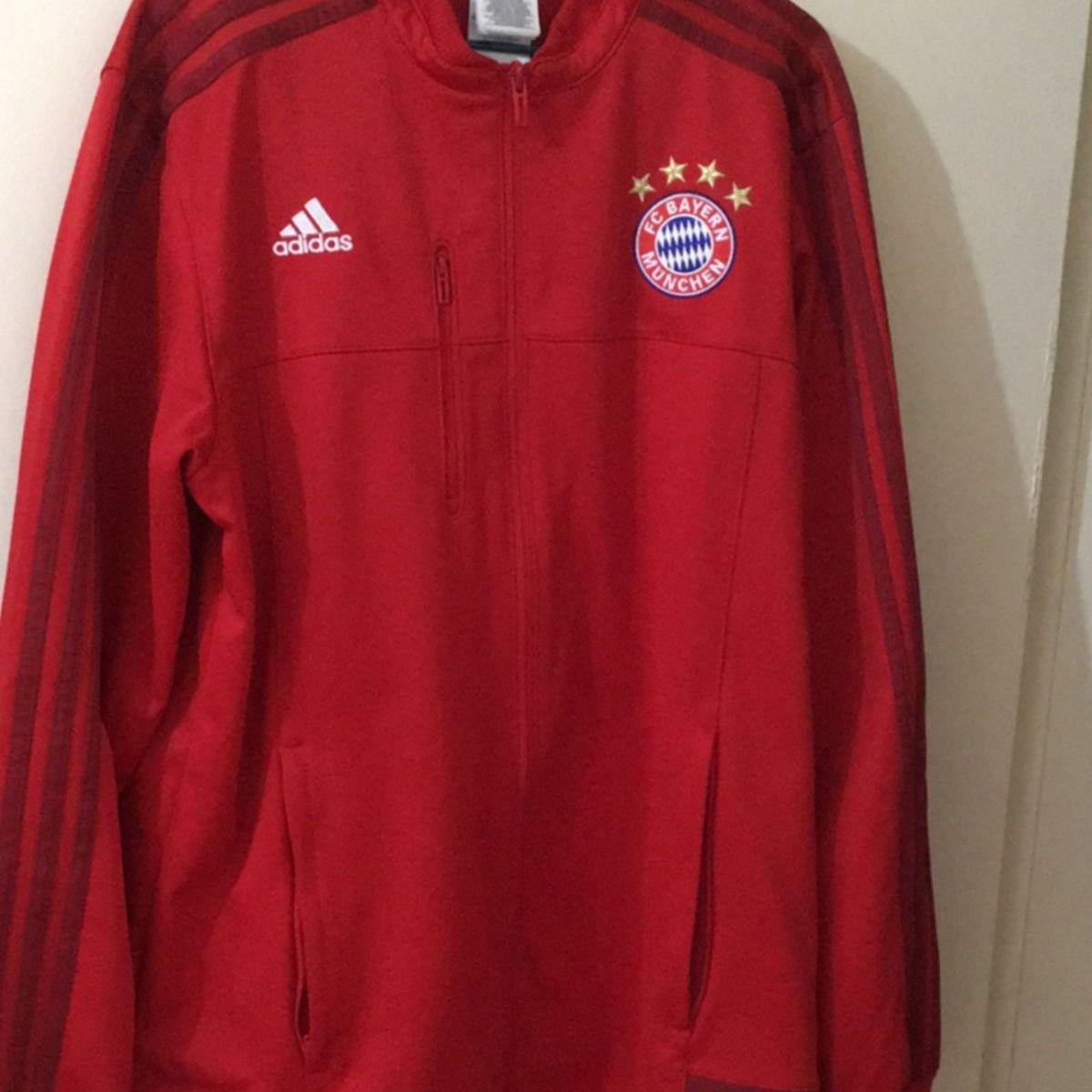 473d8861c5 Jaqueta Adidas Hino Bayern de Munique 2015 | Casaco Masculino Adidas Usado  24919171 | enjoei