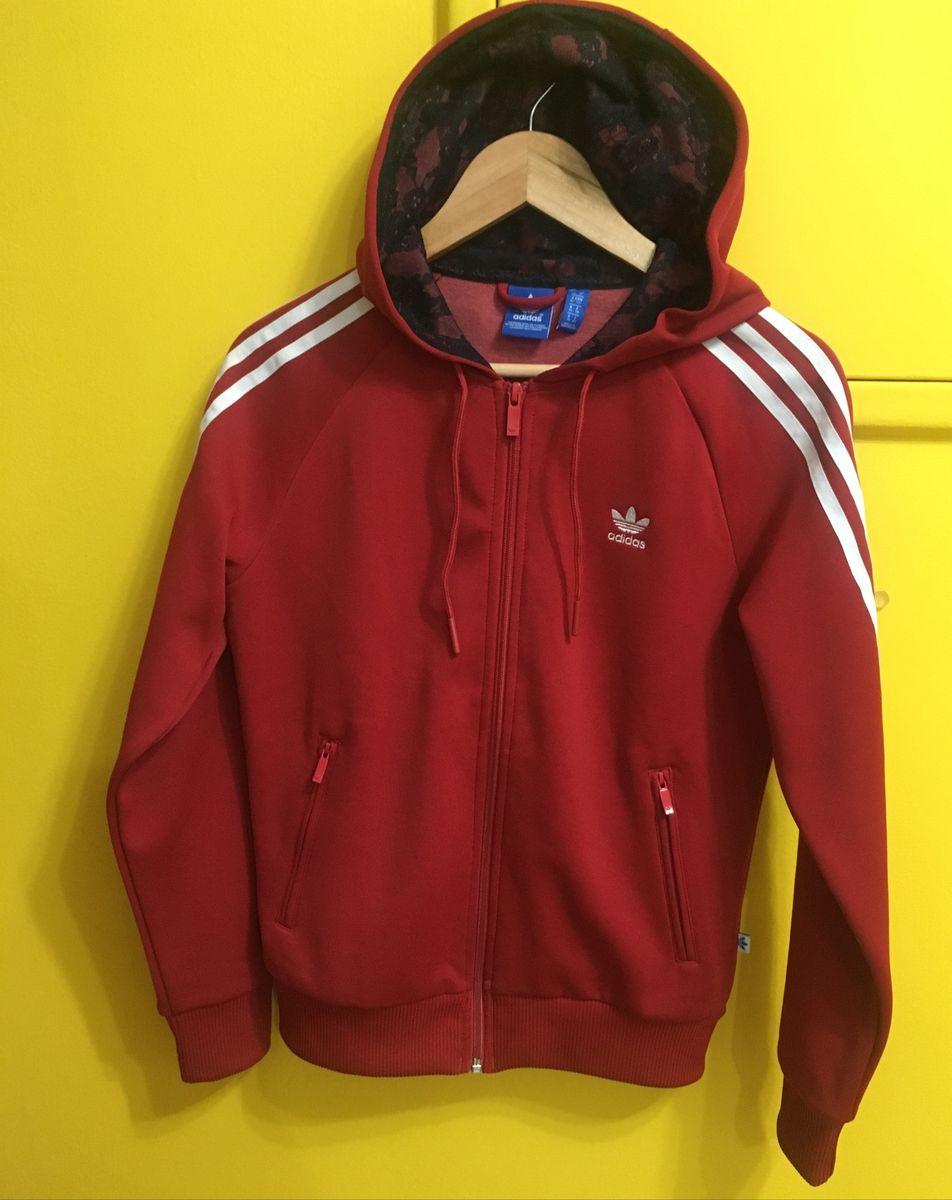 Torneado Casco Preocupado  Jaqueta Adidas Originals Firebird Renda. Raridade! | Casaco Feminino Adidas  Originals Usado 39652623 | enjoei