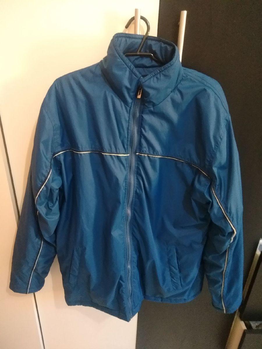 jaqueta azul para frio - casacos airways