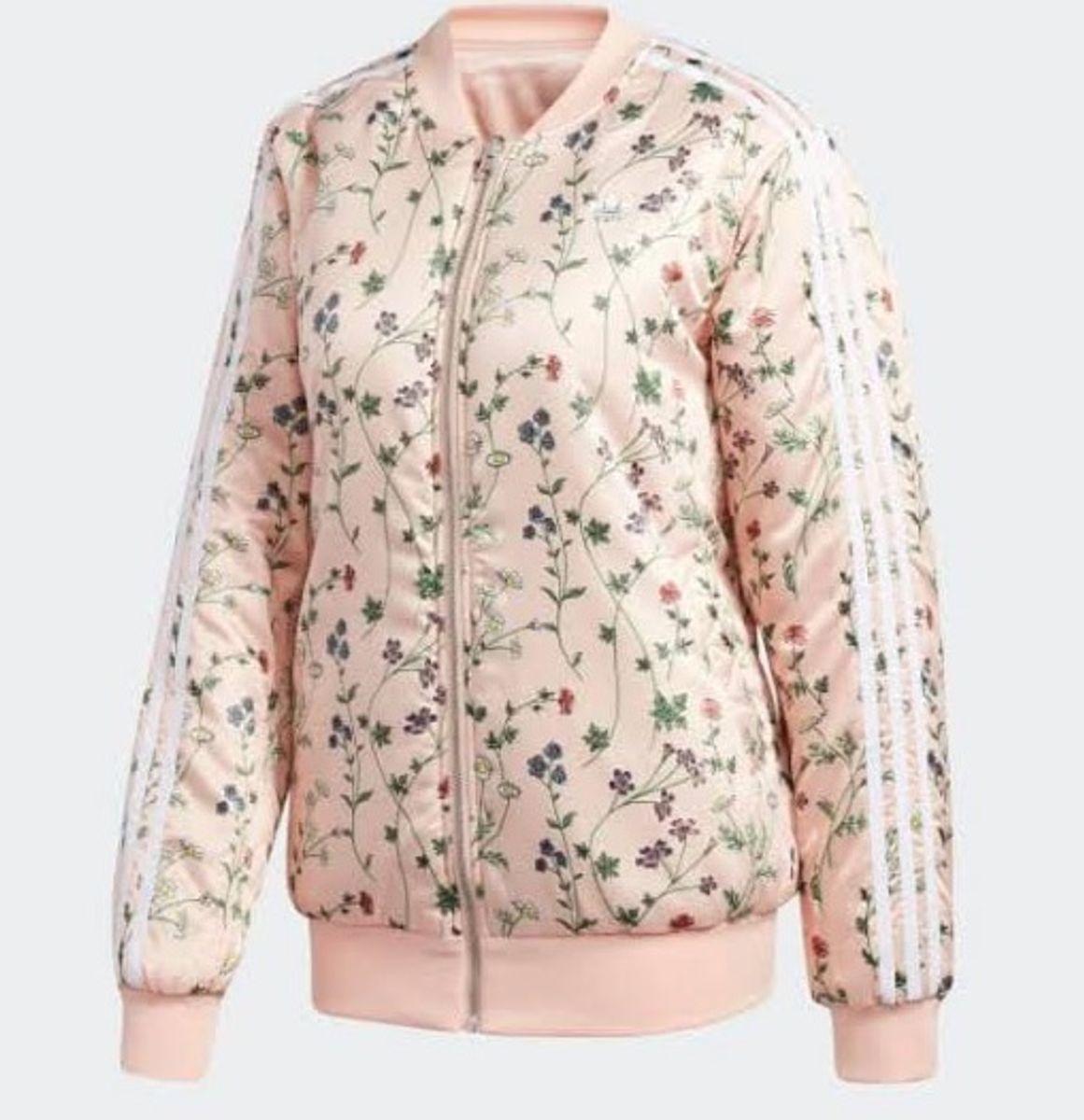 filosofía biología Macadán  Jaqueta Bomber Adidas | Casaco Feminino Adidas Usado 34593249 | enjoei