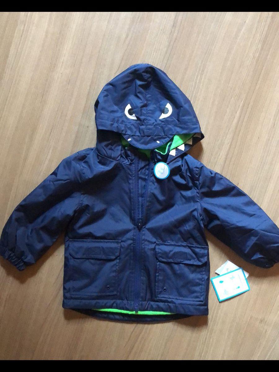 jaqueta de chuva tubarão carters - bebê carter s