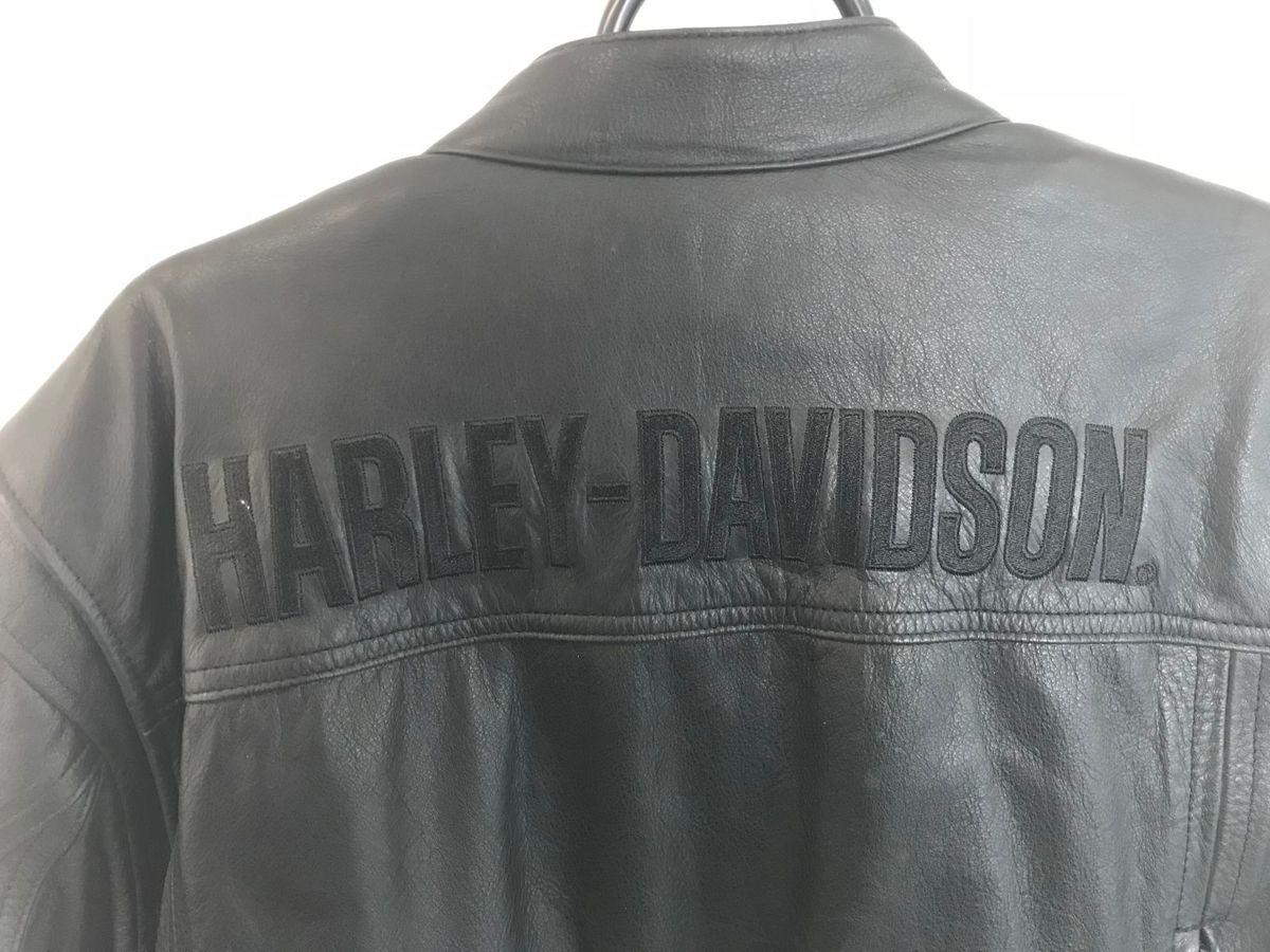 Jaqueta de Couro Harley Davidson Original Importada  c828f6d0a04