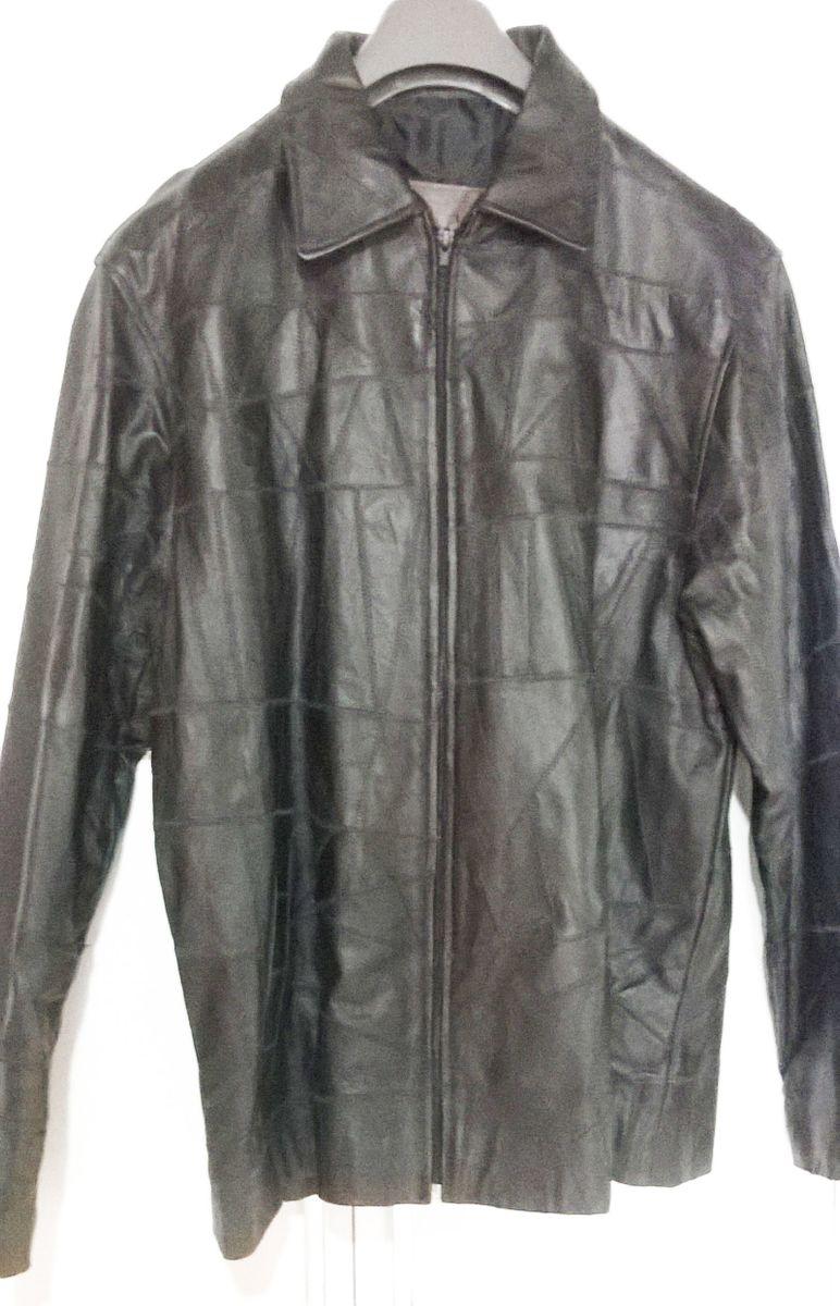 894078d02 jaqueta de couro legitimo casaco couro masculino retalhos - casacos arte  pelle