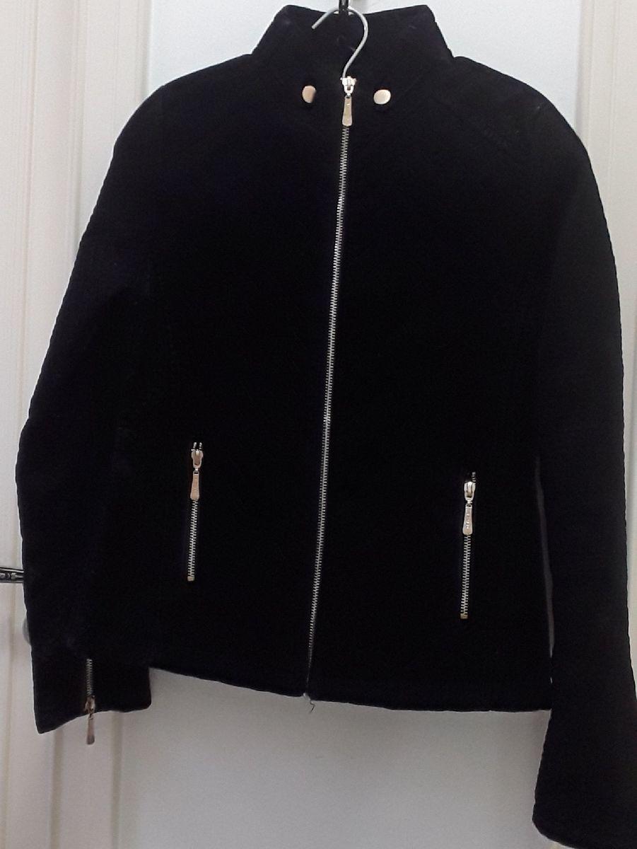 jaqueta de couro - casaquinhos via fino