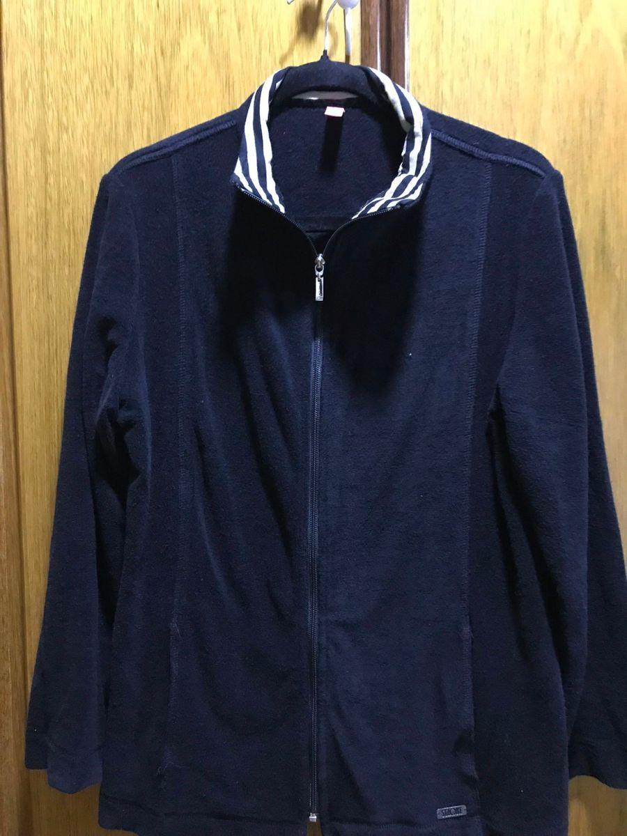 jaqueta em plush listrado - casaquinhos stroke