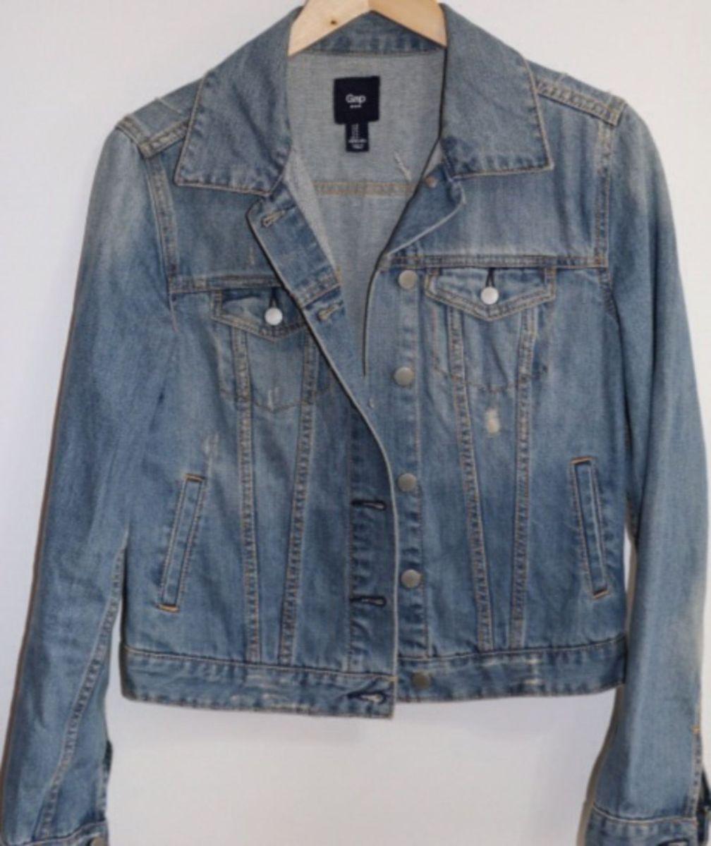 jaqueta jeans gap - casaquinhos gap