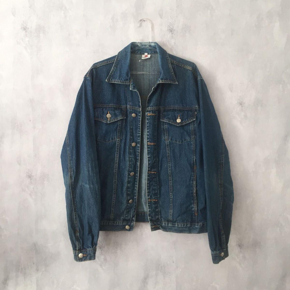 a37b70788e9d9 Jaqueta Jeans Vintage   Casaco Feminino Usado 29034629   enjoei