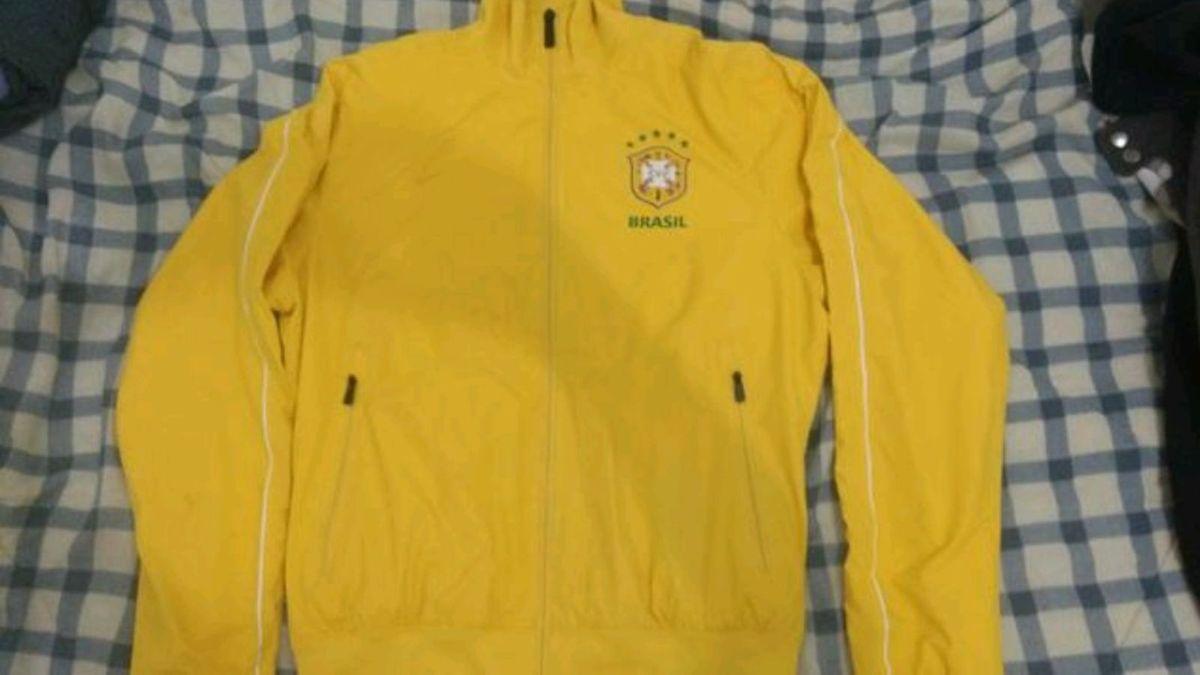 jaqueta nike selecao brasileira original - casacos nike 249270d3a563e