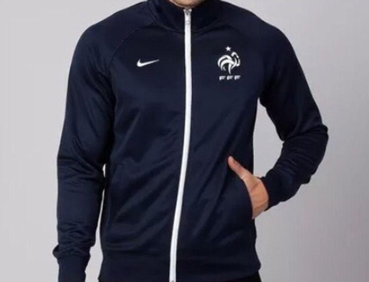 6f86aa3960 jaqueta nike seleção frança core trainer - casacos nike