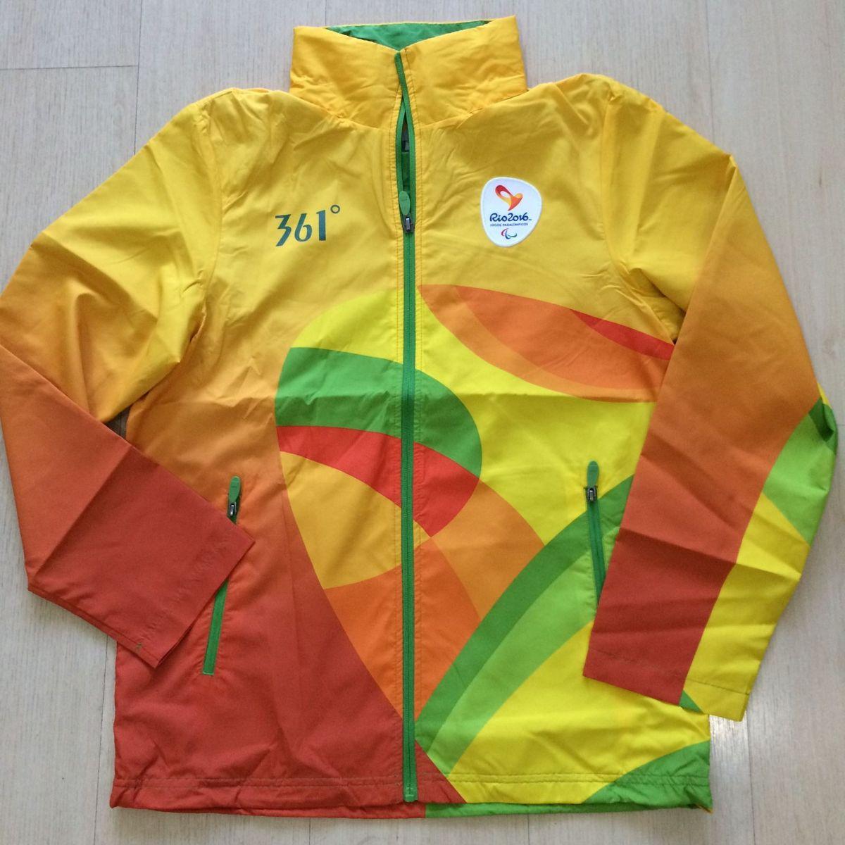 jaqueta olimpíadas rio 2016 - casaquinhos 361º