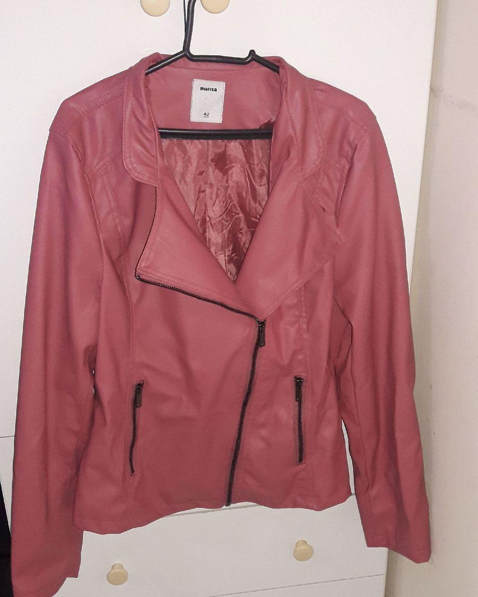 jaqueta rosa - casaquinhos marisa