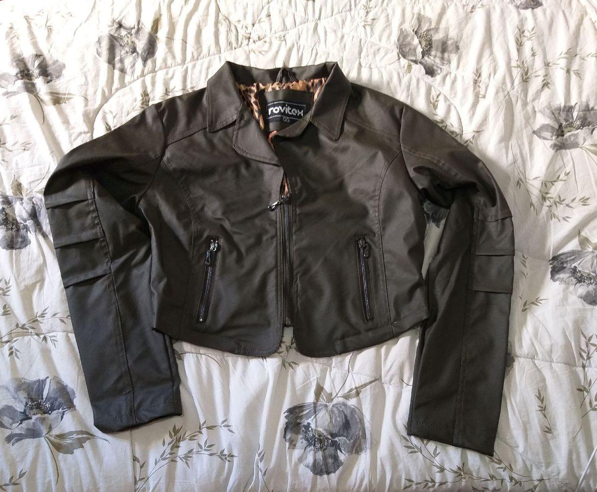 jaqueta verde - casaquinhos rovitex