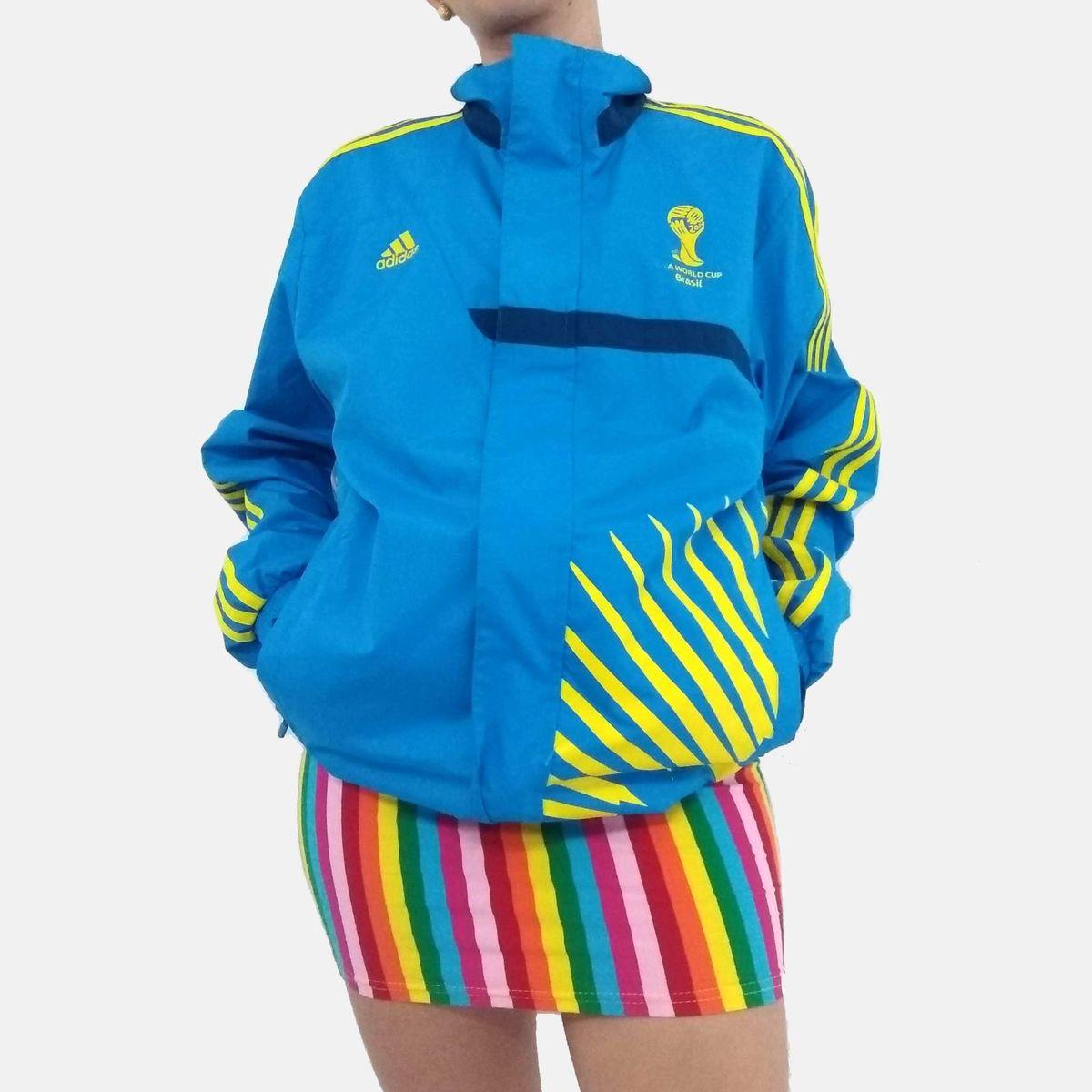 jaqueta voluntário fifa 2014 - casaquinhos adidas